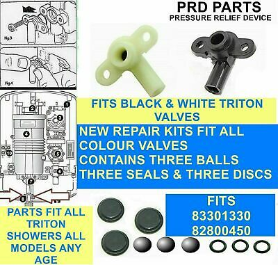 Shower Pressure Relief Device (prd) Parts Fit All Triton Showers 82800450  • 6.99£