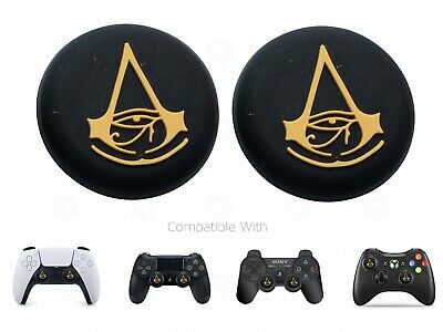 AU6.52 • Buy 2x PS5 Assassin Creed Thumb Grips Caps Covers Switch Pro/Xbox 360 Controller/PS4