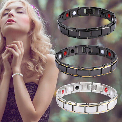 $7.22 • Buy Men Women Therapeutic Energy Healing Magnetic Bracelet Therapy Arthritis Hot!