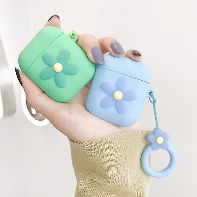 $ CDN3.71 • Buy For Apple AirPods Case Protect Silicone Cover Skin AirPod Earphone Charger Cases