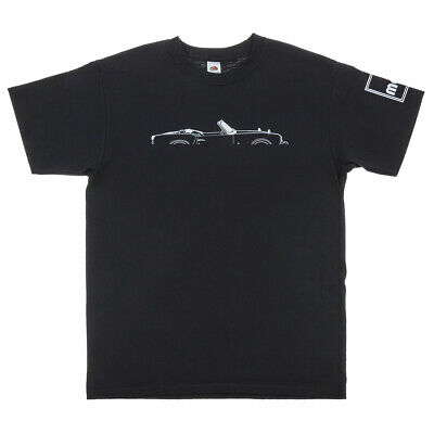 Triumph Spitfire Silhouette Men's T-Shirt In Black Size M - Available In S/L/XL • 18£