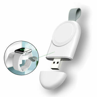 AU11.65 • Buy Apple Watch Series 5 4 3 2 1 Portable IWatch USB Charger Travel Cordless Charge