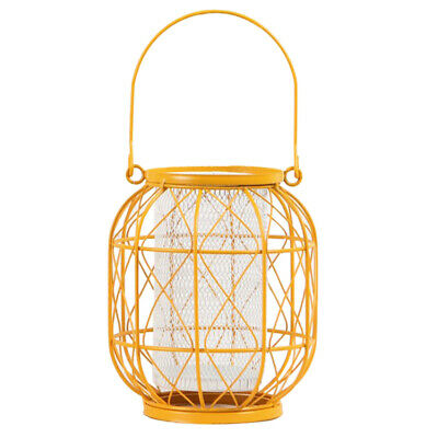 $17.82 • Buy Moroccan Iron Lantern Hanging Tea Light Candle Holder Pillars Stand Case Cup
