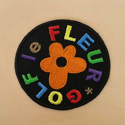Iron On Patch - Tyler The Creator Golf Le Fleur Embroidered Hip Hop Rap • 4.99£