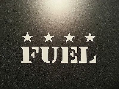 $4 • Buy Fuel  Decal * Army Military Jeep Cj Mb M38-a1 * Ford Gpw Bronco Willys Scout