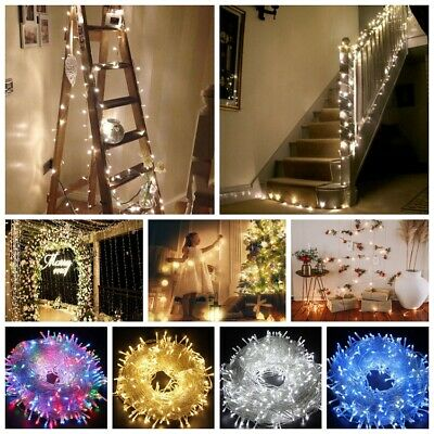 2-10M LED Fairy Lights Battery Micro Warm String Xmas Party Copper Wire Outdoor • 7.39£