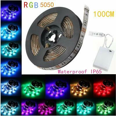 $10.99 • Buy 39 Inches LED Light RGB Strip + Battery Box + Mini Controller , Battery Powered,