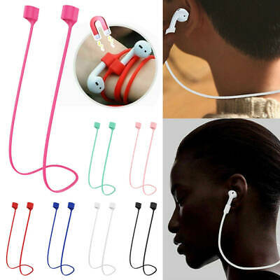 $ CDN3.25 • Buy Apple Airpods Anti-Lost Strap With Magnetic Connector Neckband Sports Wire Cord