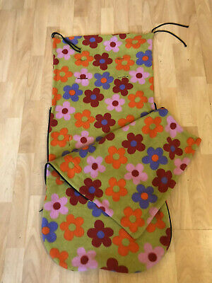 £18 • Buy Buggy Snuggle Footmuff. Lovely Bright Floral Colours. Great Condition.