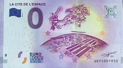 Ticket 0 Euro The & SPACE France 2018-2 Number Various • 4.96£