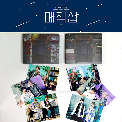 $59.90 • Buy Bts 5th Muster  Magic Shop  Official Md - Pop-up Card (busan, Seoul)