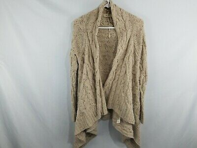 $ CDN45.58 • Buy Sleeping On Snow Anthropologie Wool Blend Cardigan Women's Size Small Cable Knit