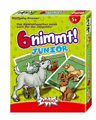 AU42.27 • Buy Amigo 6 NIMMT - JUNIOR KINDERSPIEL 0