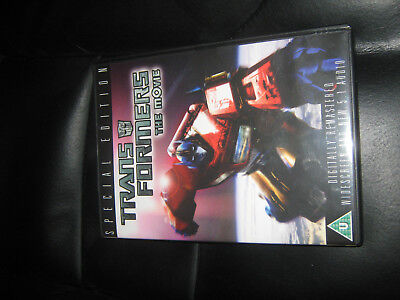 £1.50 • Buy Transformers The Movie (animated) DVD PAL