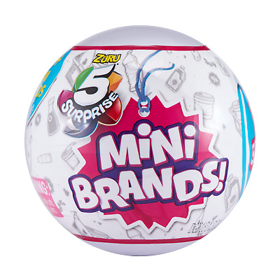 $ CDN17.39 • Buy 5 Surprise Mini Brands - 1 Ball (5 Total Figs.) - ZURU - New & Sealed! Free Ship