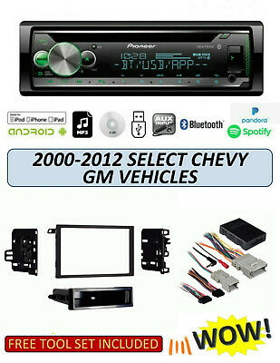 $209.99 • Buy Pioneer DEH-S5200BT Stereo Kit For Select GM Chevrolet Vehicles 2000-2012