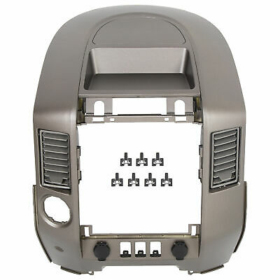 $68.50 • Buy For 2004-2006 Nissan Titan XE SE Armada SE Instrument Panel Lid Dash Radio Bezel