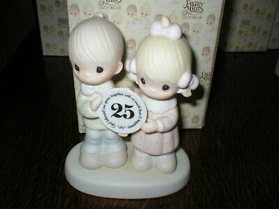 Enesco Precious Moments Figurine God Blessed Our Years Together Boxed • 14.99£