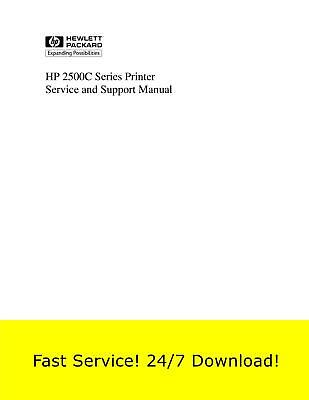$1.49 • Buy HP 2500C Printer Service Manual