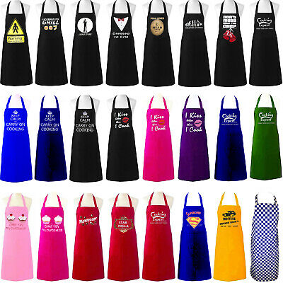 £5.99 • Buy Unisex Adult Aprons Chefs Novelty Butchers Funny Kitchen Bbq Party Cooking Gift