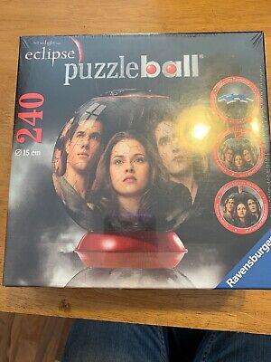 $19.99 • Buy Ravensburger 3D Puzzle Ball The Twilight Saga Eclipse 240 Pcs Factory Sealed NEW