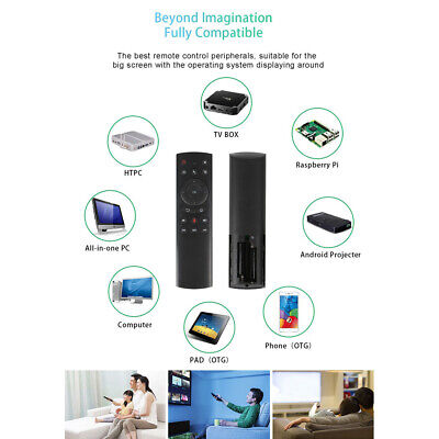 AU13.45 • Buy 2.4Ghz Air Fly Mouse Wireless Keyboard Remote For ANDROID   PC G20