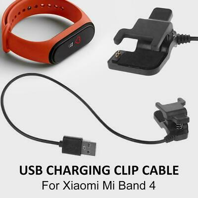 For Xiaomi Mi Band 4 Smart Bracelet USB Clip-on Fast Charging Cable Dock Charger • 7.39$
