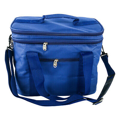 $ CDN27 • Buy 17.8L Extra Large Lunch Bag For Adult Double Decker Compartment Cooler Bags CA