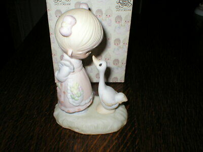 Enesco Precious Moments Figurine Make A Joyful Noise Boxed • 14.99£