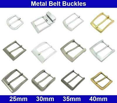 £5.87 • Buy Metal Belt Buckles - 20, 25, 30, 35, 40mm - Antique Silver, Brass, Chrome Plated