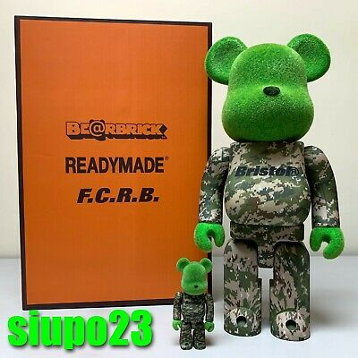 $289.99 • Buy Medicom 400% + 100% Bearbrick ~ Readymade X SOPH FCRB Be@rbrick