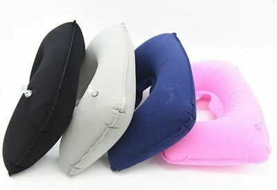 AU15.49 • Buy Inflatable Neck Pillow U Shaped Car Head Rest Air Cushion For Travel Accessories