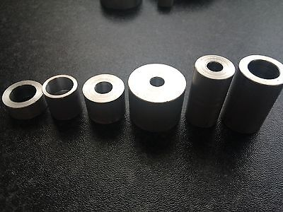 £2.10 • Buy  Aluminium Stand Off Spacer Hole Sizes 6mm 8mm 10mm 12mm Various Lengths.Custom