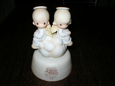 Enesco Precious Moments Figurine But Love Goes On Forever • 9.99£