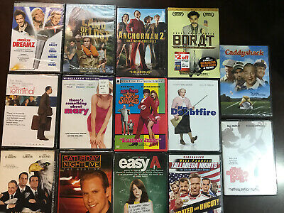 $ CDN28.21 • Buy DVD Lot Of 14 Movies DVDs All Brand New Still Factory Sealed Comedy