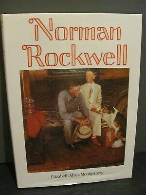 $ CDN32.44 • Buy NORMAN ROCKWELL HARD COVER BOOK 1989 Elizabeth Miles Montgomery W/ Dust Jacket