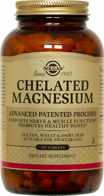 £17.78 • Buy Solgar Chelated Magnesium Tablets 250ct