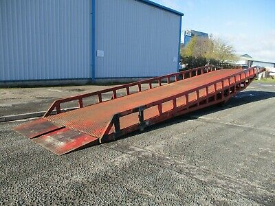 Loading Ramp Container Ramps Dock Forklift Yard Mobile Delivery Arranged • 3,750£