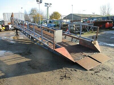Loading Ramp Container Ramps Dock Forklift Yard Mobile Delivery Arranged • 3,450£