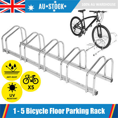 AU36.46 • Buy 1 – 5 Bike Floor Parking Rack Instant Storage Stand Bicycle Cycling Dismountable