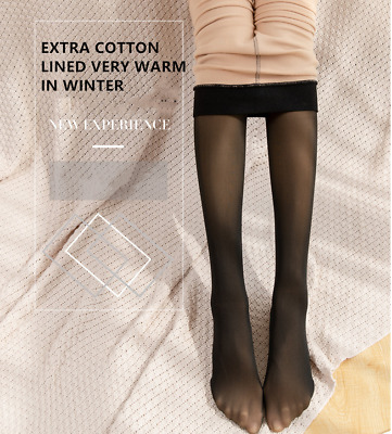 £12.99 • Buy Women Magic Extra Thick Warm Winter Double Lined Stretch Thermal Fleece Tights