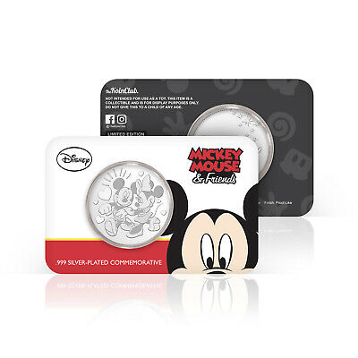 Disney Gifts Mickey And Minnie Mouse Official Limited Edition Collectable Coin • 9.99£