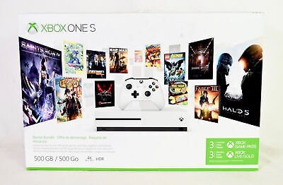 $188.50 • Buy Xbox One S 500GB + 1 Controller - Starter Bundle (codes May Not Work)
