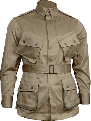 $91.52 • Buy US Airborne M1942 Jacket - American Paratrooper Repro Army D-Day All Sizes New