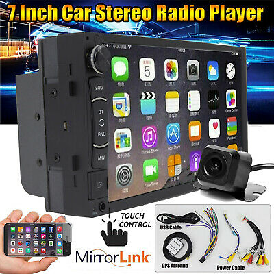$161.20 • Buy Touchscreen Car Stereo Radio Double 2DIN For GPS Wifi USB Player W/ Park Camera