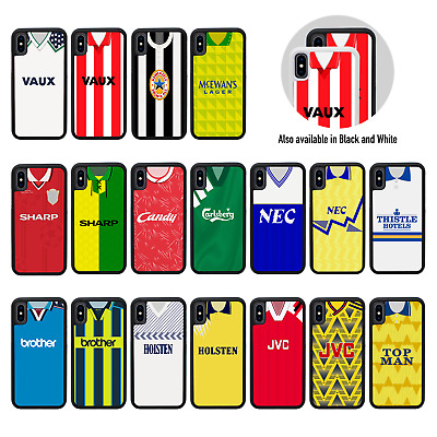 £7.99 • Buy RETRO FOOTBALL SHIRTS Rubber TPU Bumper Case For Apple IPhone XR 6.1 Inch Screen