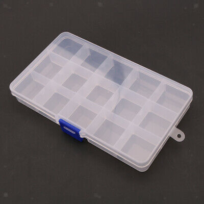 $ CDN10.73 • Buy Portable Clear Plastic Guitar Picks Holder Case Storage Box With 15 Grids