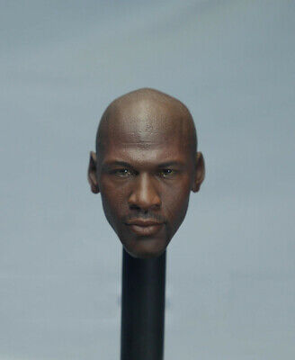 $39.99 • Buy 1/6 Michael Jordan Head Sculpt For 12  Hot Toys Enterbay Phicen M36 Figure Body