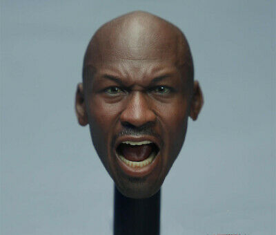 $39.99 • Buy 1/6 Michael Jordan Head Sculpt 2.0 For Hot Toys Enterbay Body Model Toy New