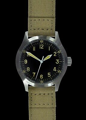 MWC G10 HandWinding 24 Jewel 100m Water Resistant General Service Military Watch • 225£